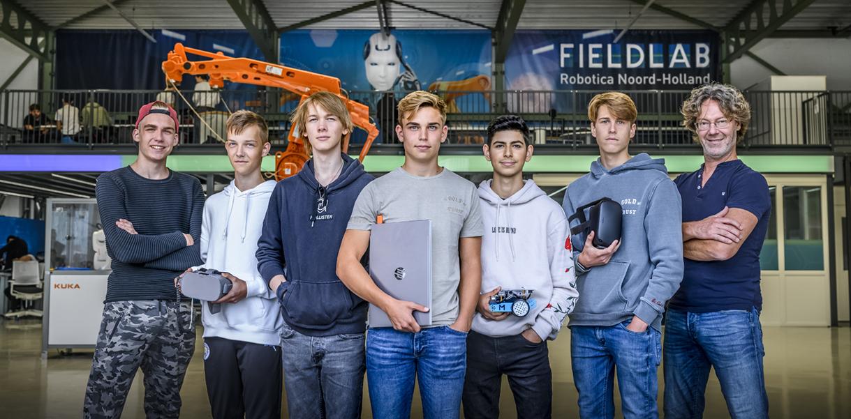 Fieldlab Robotica Noord-Holland / Klant: Regio College