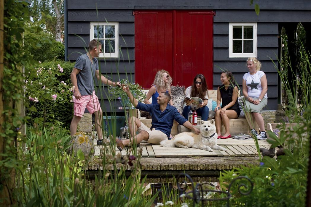 Verkoop brochure en website, klant: Boers Tuin + Hout, Doetichem
